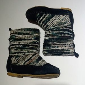 SHOES OF SOUL WOOL BOOTS